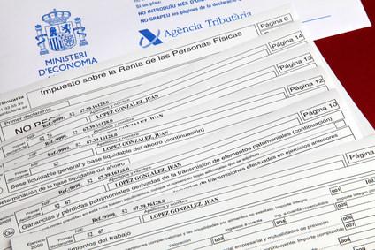 Declaración de la renta 2013