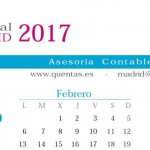 Calendario laboral Madrid 2017