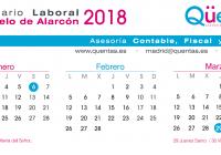 Calendario Laboral de Pozuelo de Alarcón (Madrid)