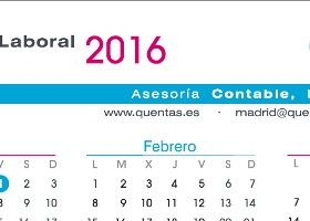 Calendario laboral 2016 Valladolid